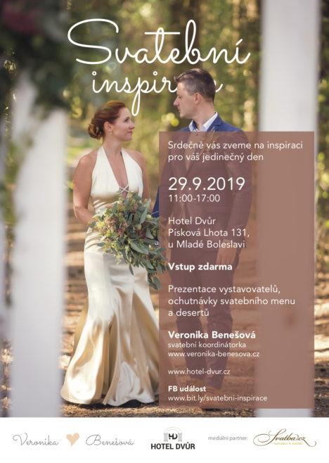 Svatební inspirace 29.9.2019, Hotel Dvůr